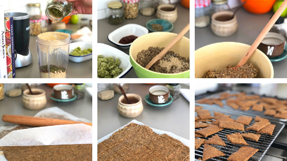Vege Cracker Method Photos